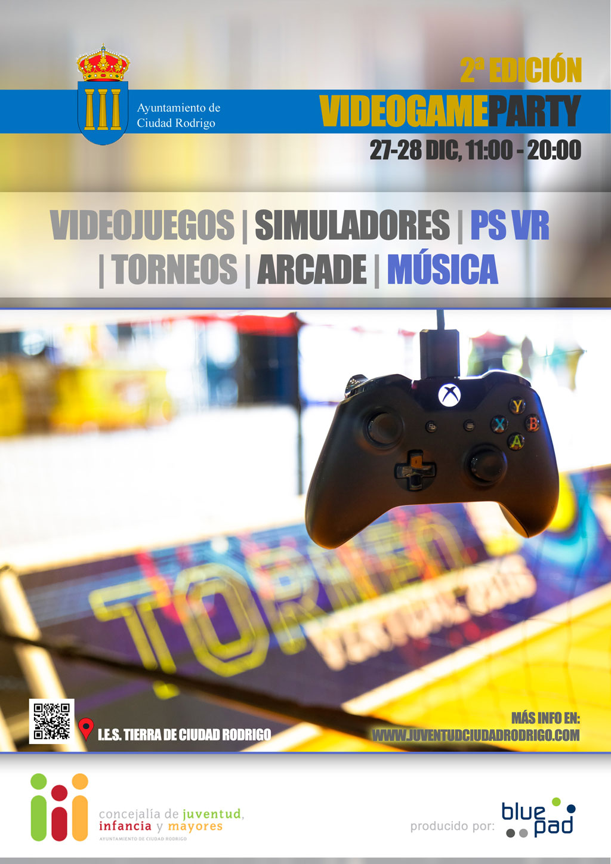 juventudciudadrodrigo-video-game-party-2017