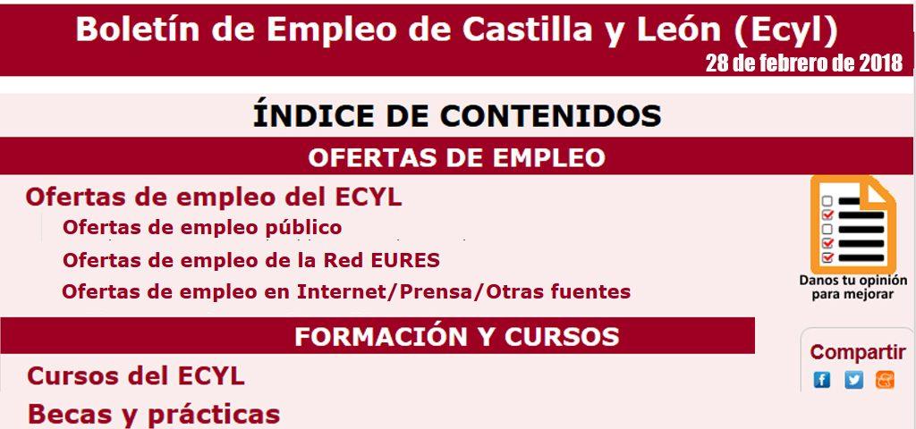 Boletín de Empleo CyL 28Febrero – JUVENTUD CIUDAD RODRIGO - photo#4